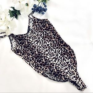 NEW AMBIANCE leopard bodysuit